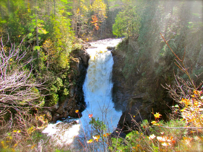14. While in Forks, make sure you take in the glorious Moxie Falls.
