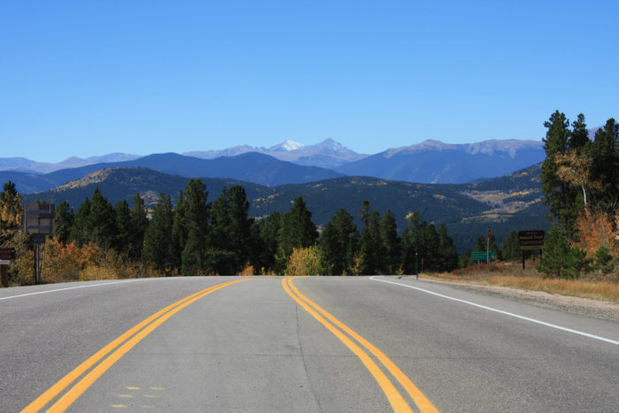 1. Peak to Peak Scenic and Historic Byway