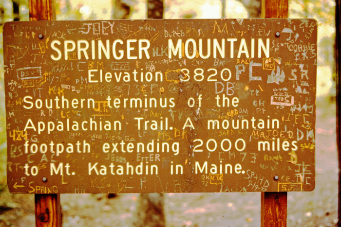 This makes Springer Mountain quite a special place for many.