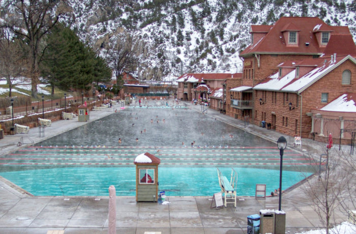 In addition to its rich history, Glenwood Springs is also home to numerous hot springs (which has been a huge draw to tourists for more than 100 years)...