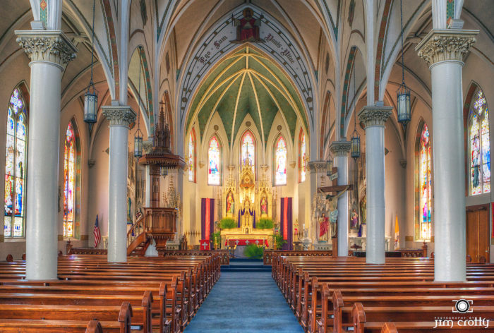 ...or visit the famous St. Mary's Catholic Church.