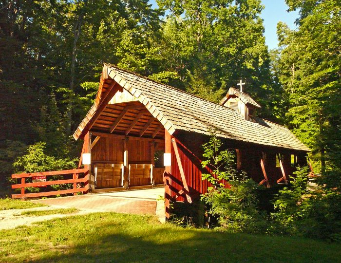 6. Loon Song Covered Bridge