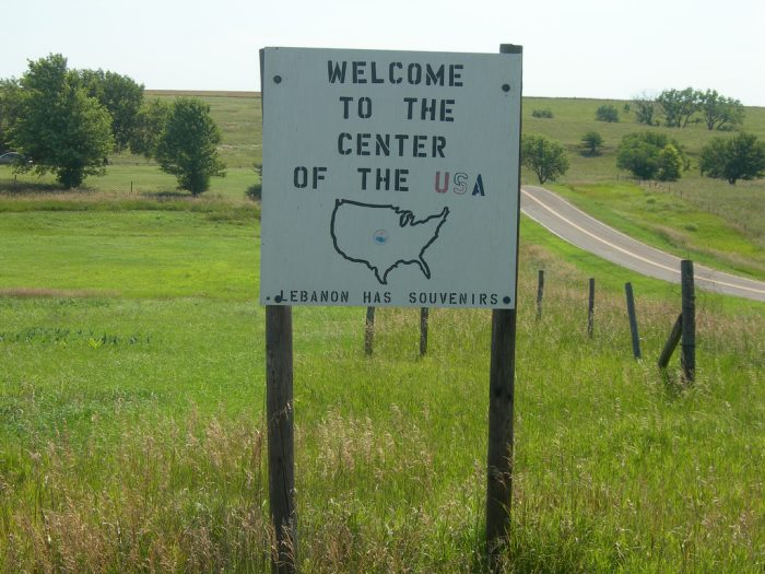 ...which is its close proximity to the geographic center of the contiguous United States.