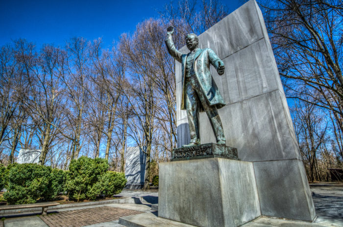 Would Roosevelt Island really be Roosevelt Island if there wasn't a memorial for President Franklin D. Roosevelt? Well surprisingly, this almost didn't happen.