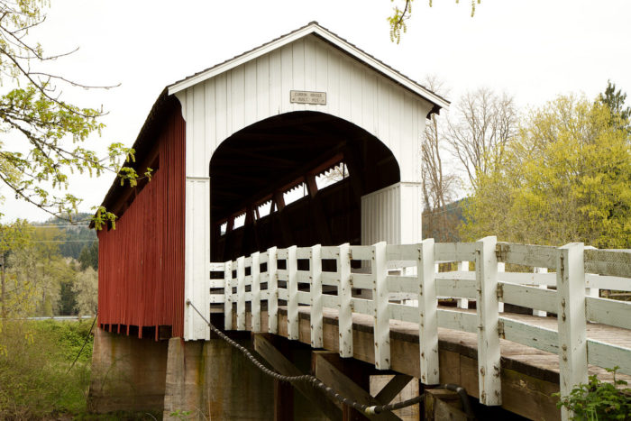 3. Covered Bridges Tour Route