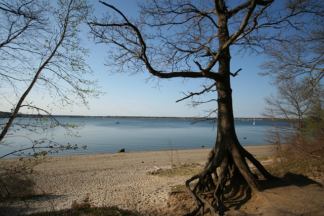 Found along the shores of both Greenwich Bay and Greenwich Cove, this park offers some of the most stunning scenery around.