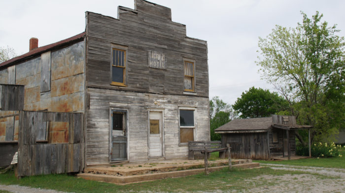 Ingalls Ghost Town