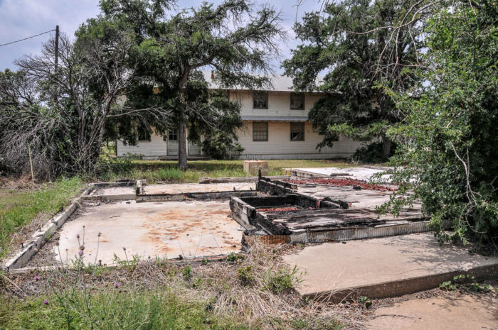 Fort wolters in texas is a decaying abandoned military base