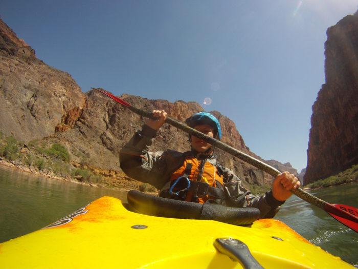 10. Kayak through the canyon via the Colorado River.