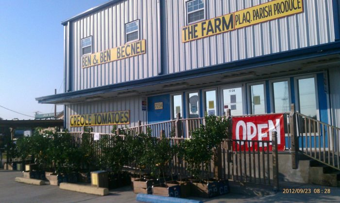 After your seaplane ride, head on over to the legendary Ben & Ben Becnel Farmstand, at 14977 Highway 23.