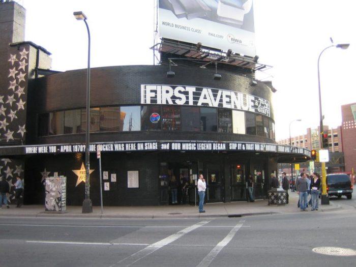 First Avenue, Minneapolis