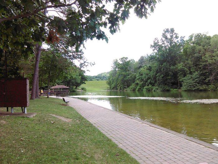 9. Twin Lakes Park