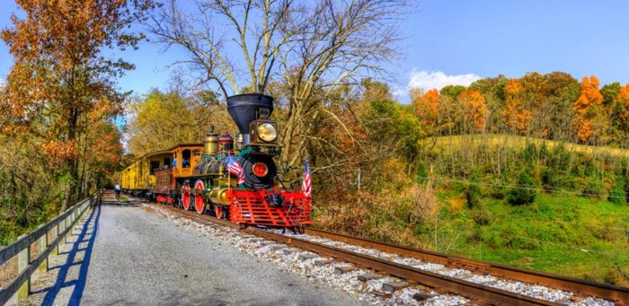 During your journey on the rail trail, you may catch sight of the Steam Into History Excursion Train, which takes riders back to the Civil War era and...