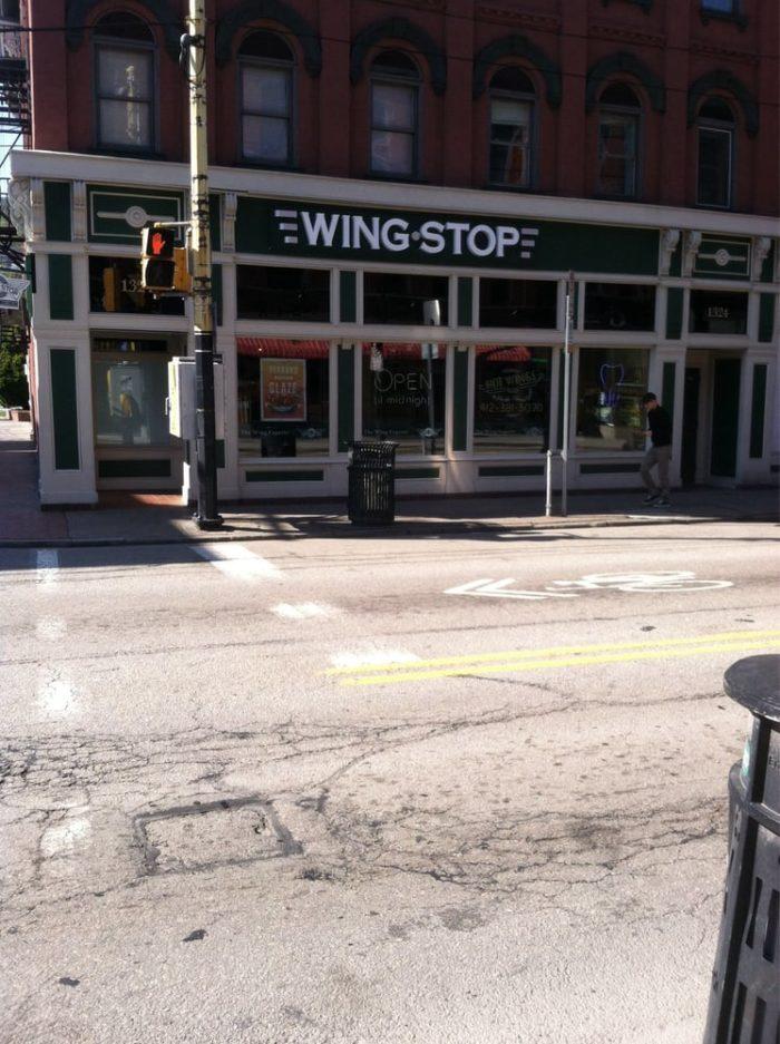 7.  Wingstop – 1324 E Carson Street