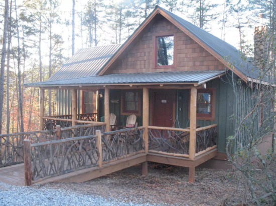 9. Cozy Cabin Away From It All—Helen, Georgia