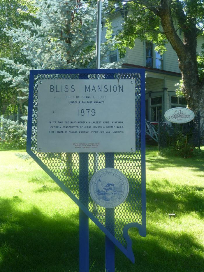 2. Bliss Mansion, Carson City
