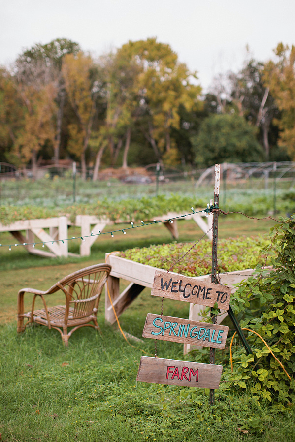 Springdale Farm offers a stunning backdrop to an excellent meal.