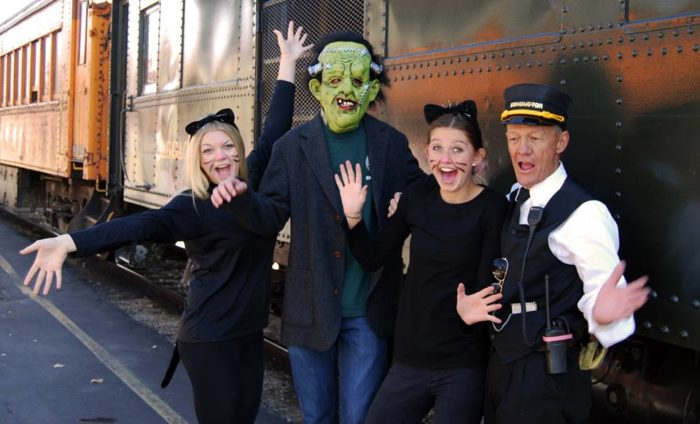 Train staff will be dressed in costume but this adventure is appropriate for all ages, so you don't have to worry about the characters being too scary for the little ones.