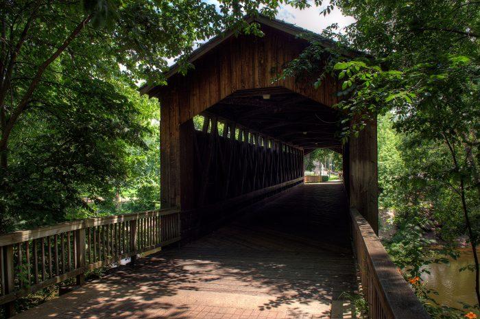 2. Ada Covered Bridge