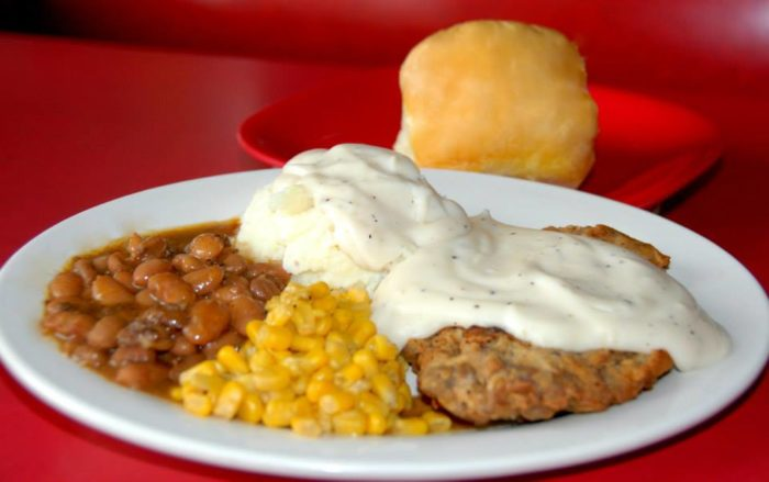 It isn't all burgers and sandwiches at Ed Walker's, you'll find all your favorite homestyle meals.