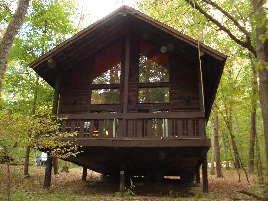 Abe Martin Lodge cabin