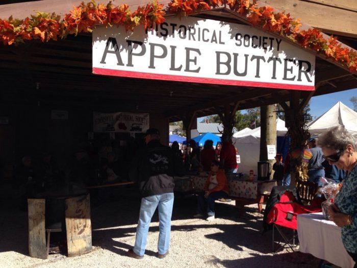 5. Apple Butter Festival - Kimmswick