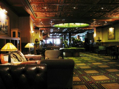 The lounges are cozy and inviting, but the stories surrounding them are chilling.