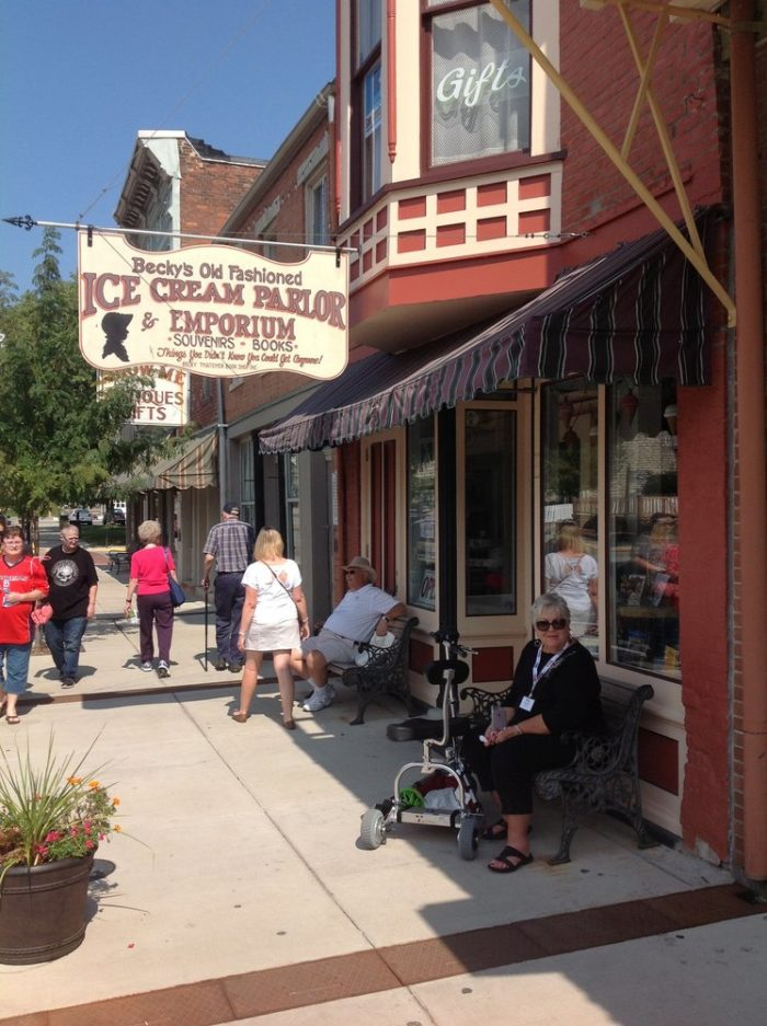 3. Becky's Old Fashioned Ice Cream Parlor - Hannibal