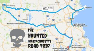 This Haunted Road Trip Will Lead You To The Scariest Places In Massachusetts