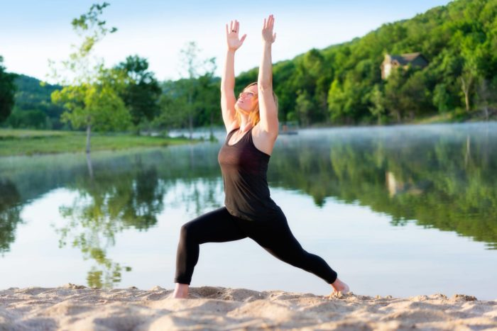 Start your morning off with some relaxing yoga. The Lodge offers 45-minute yoga sessions for overnight guests.