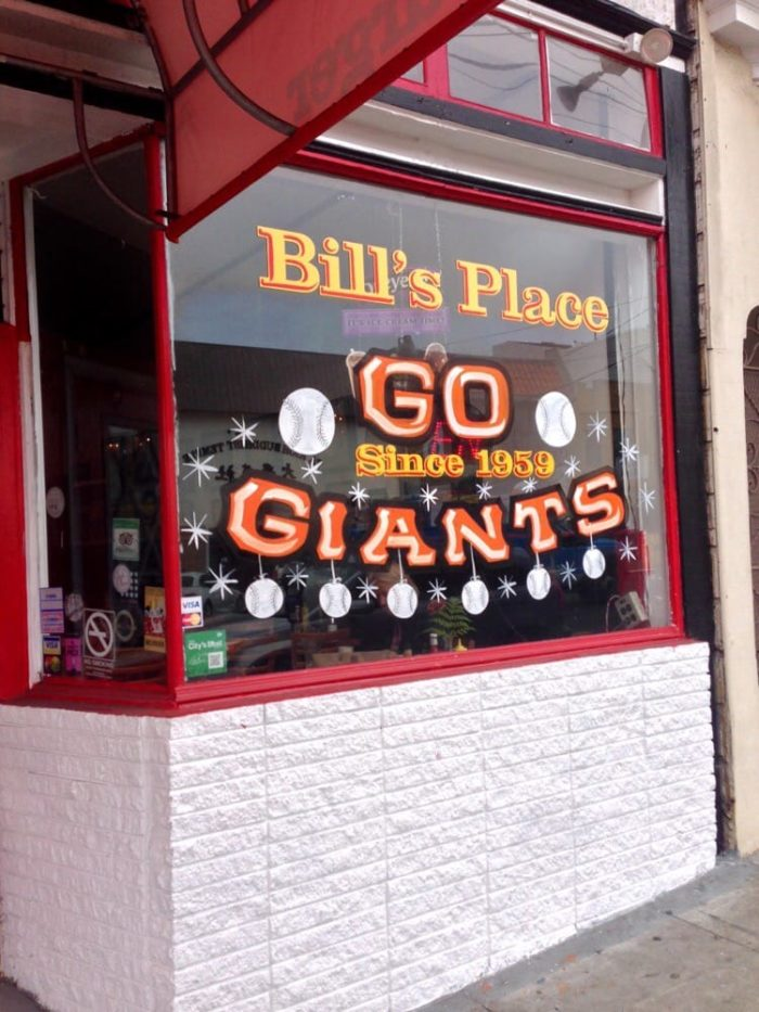 6. Bill's Place: 2315 Clement St