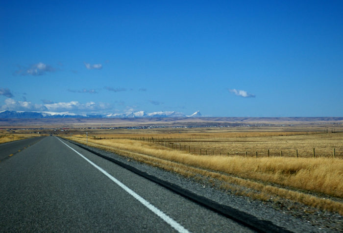Many stretches of the loop are wide open, and you may not see another car for miles.