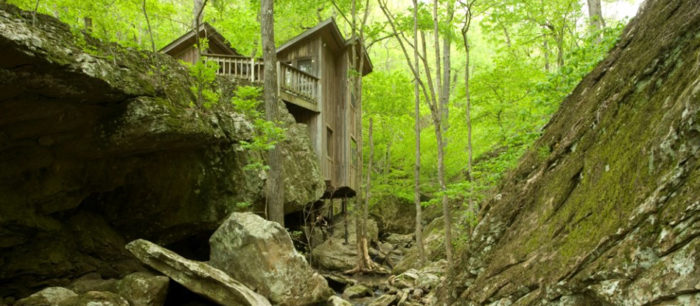 There are four cabins at Longbow Resort, and each one has its own special kind of magic.