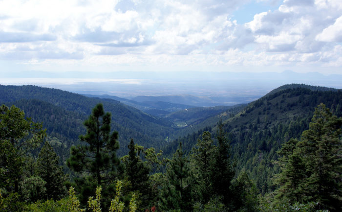 Soak in the scenery along the Sunspot Scenic Byway, which connects Cloudcroft to Sunspot. This drive meanders for 17 miles along NM-6563 through the Sacramento Mountains.