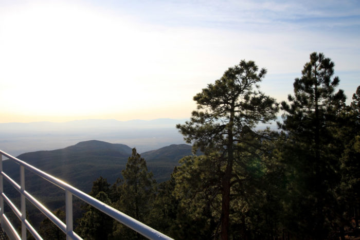 It affords panoramic views of the Tularosa Basin and terminates at an observatory – visitors are welcome to wander around the observatory's grounds.