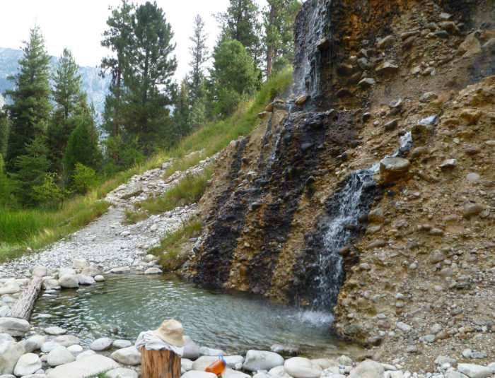 Travel The Natural Hot Springs Trail In Idaho
