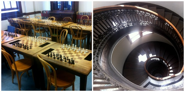 7. Mechanics' Institute Library and Chess Room: 57 Post Street