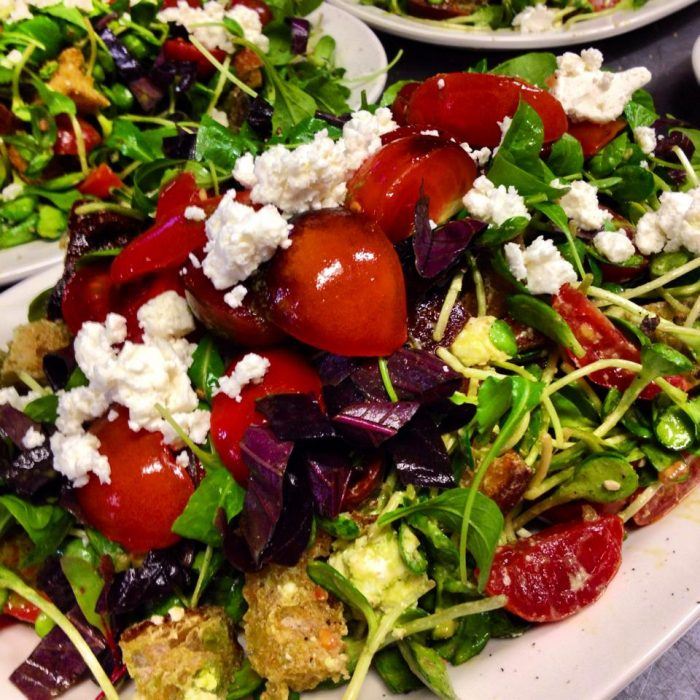 Which makes your starter salad even more delicious.