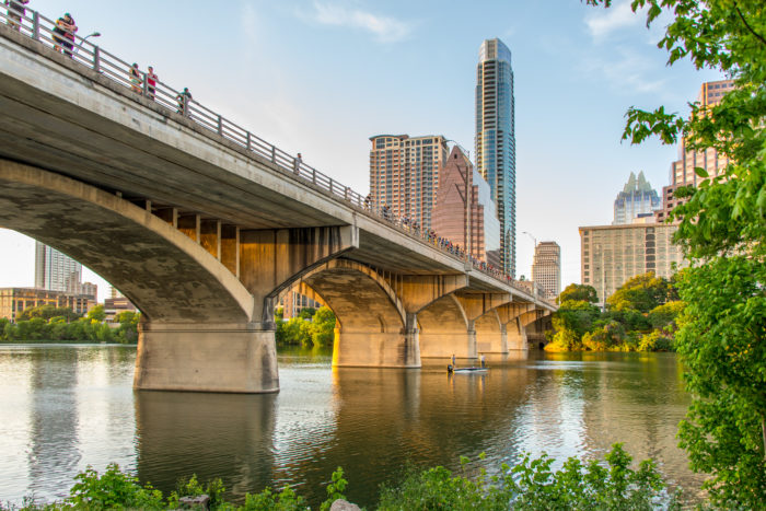 The Ann Richards Bridge on South Congress is more than just a beautiful sight.