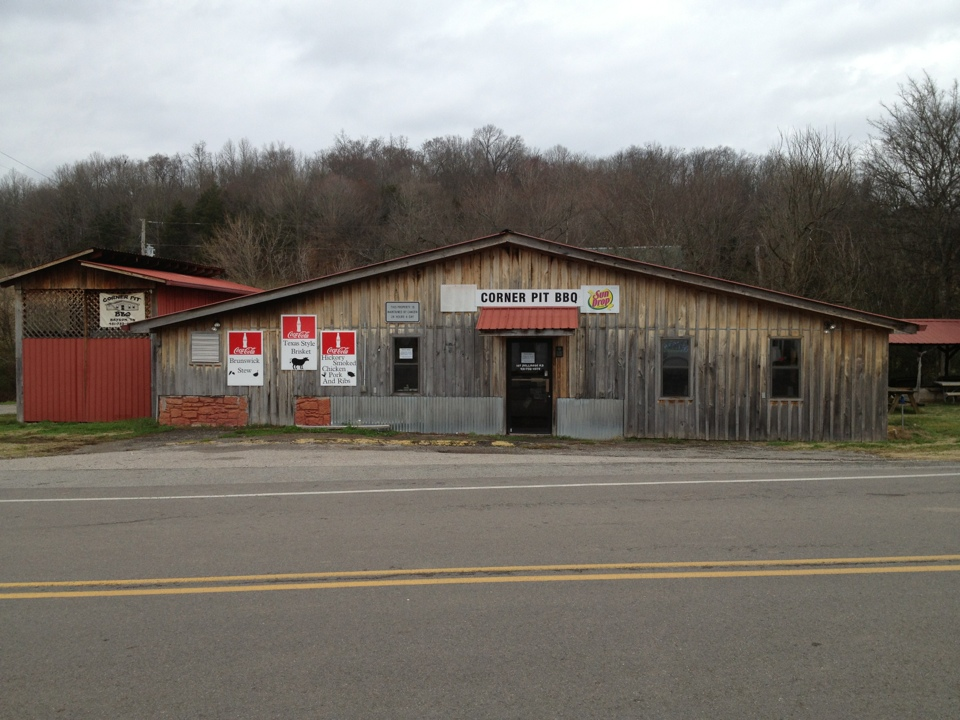 Corner Pit Bbq In Dellrose Tennessee Is The Best Small