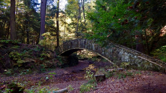 ...but the most picturesque ones by far are the stone bridges.