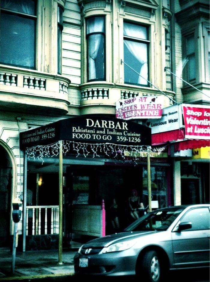 3. Darbar Restaurant: 1412 Polk Street