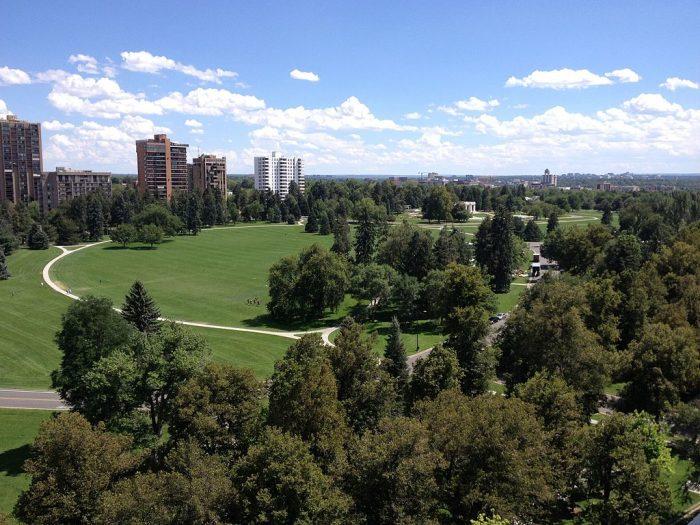 3. Cheesman Park (Denver)