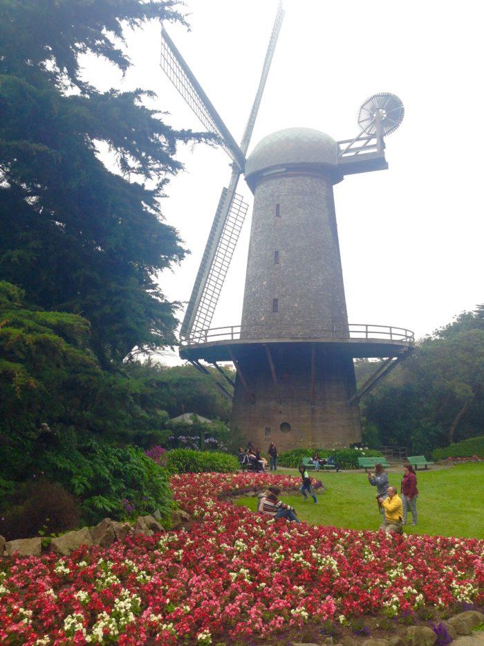 6. Dutch Windmill: John F. Kennedy Drive