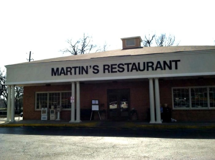9. Martin's Restaurant (Fried Chicken) - Montgomery, AL