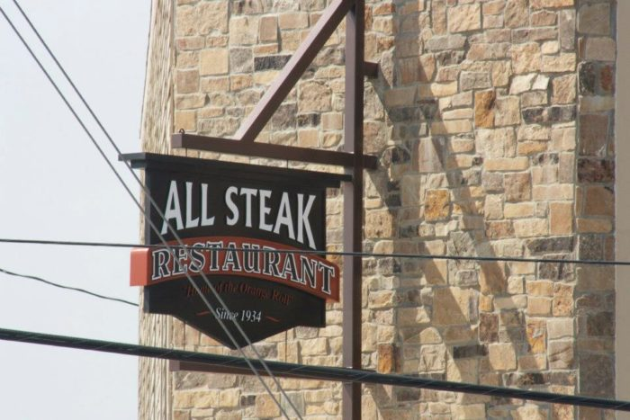 4. All Steak (Orange Rolls) - Cullman, AL