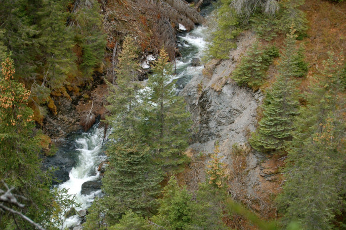 Or hop on the Primrose Trail in the Chugach National Forest and check out the stunning beauty that can be found at Porcupine Falls.