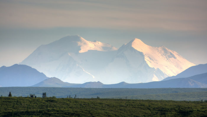 1. Alaska is home to North America's tallest mountain, Denali.
