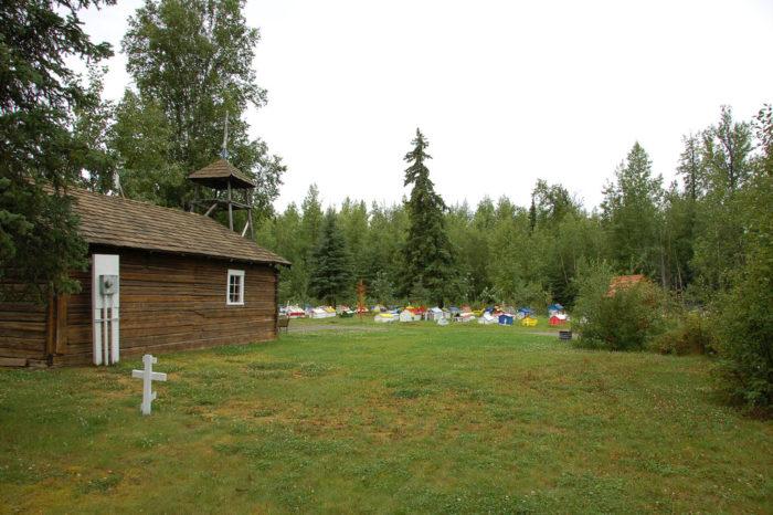 5. Eklutna Spirit Houses – Eklutna