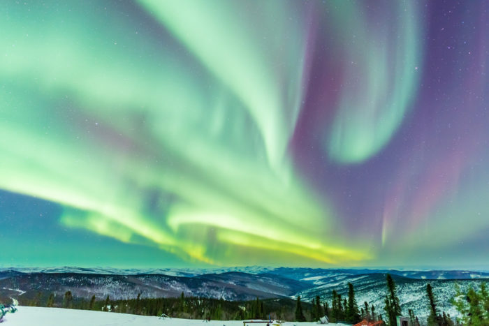 12. One look at the Aurora Borealis and you'll quickly shut up if you hate Alaska.